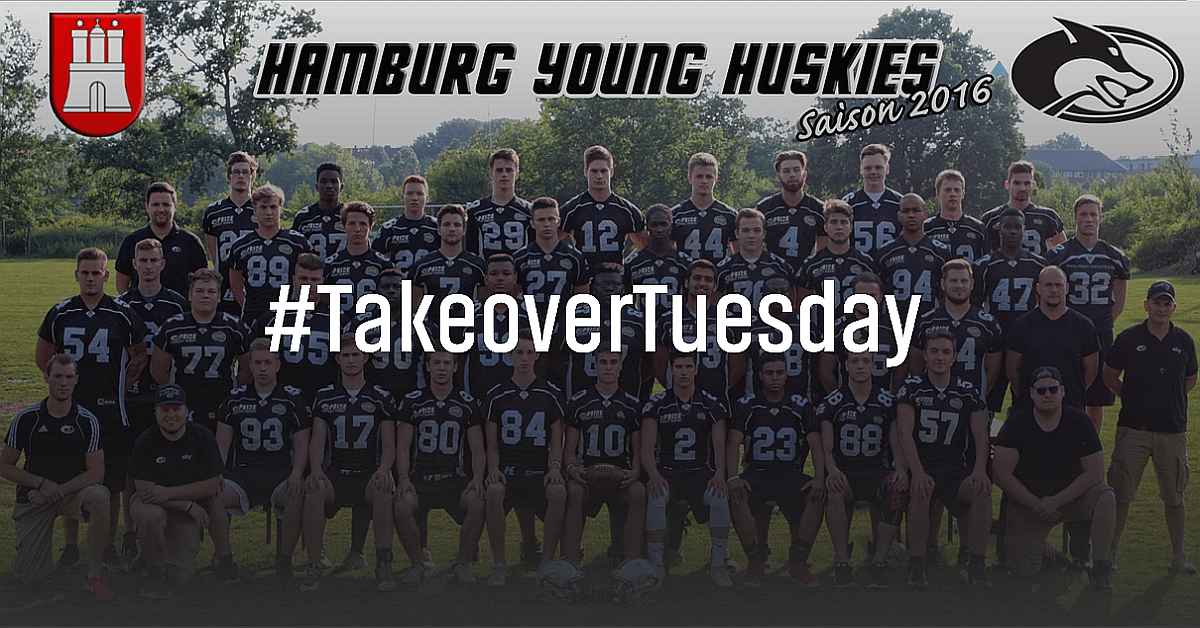 ▶ Hamburg Young Huskies, American Football | Instagram Takeover [1:38 Min.]