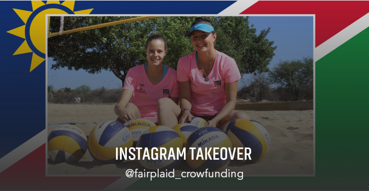 ▶ Team Namibia, Beach Volleyball | Instagram Takeover [2:35 Min.]